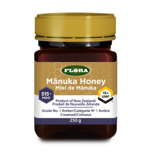Flora - Manuka Honey (515+ MGO / 15+ UMF Strength)