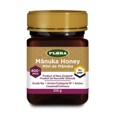 Flora Manuka Honey, 400+ MGO / 12+ UMF Strength