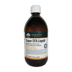 500ml Bottle of Genestra Super EFA Liquid (Orange Flavour)