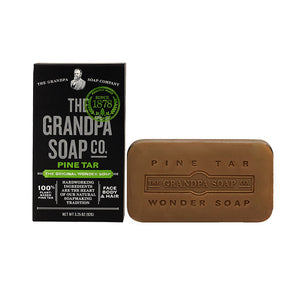 Grandpa's - Wonder Pine Tar Soap