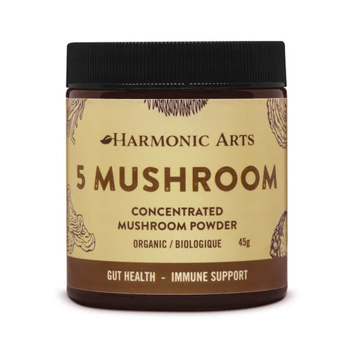 Harmonic Arts 5 Mushroom Concentrated Mushroom Powder