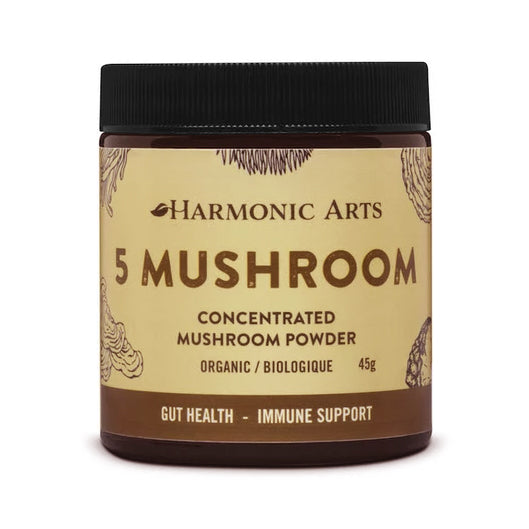 Harmonic Arts - Organic 5 Mushroom Dual Extract Powder