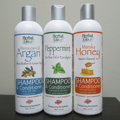 Herbal Glo - 2-in-1 Shampoo & Conditioner