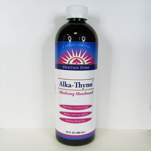 Heritage Store - Alka-Thyme (Alkalyzing Mouthwash)