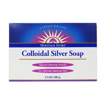Heritage Store Colloidal Silver Soap