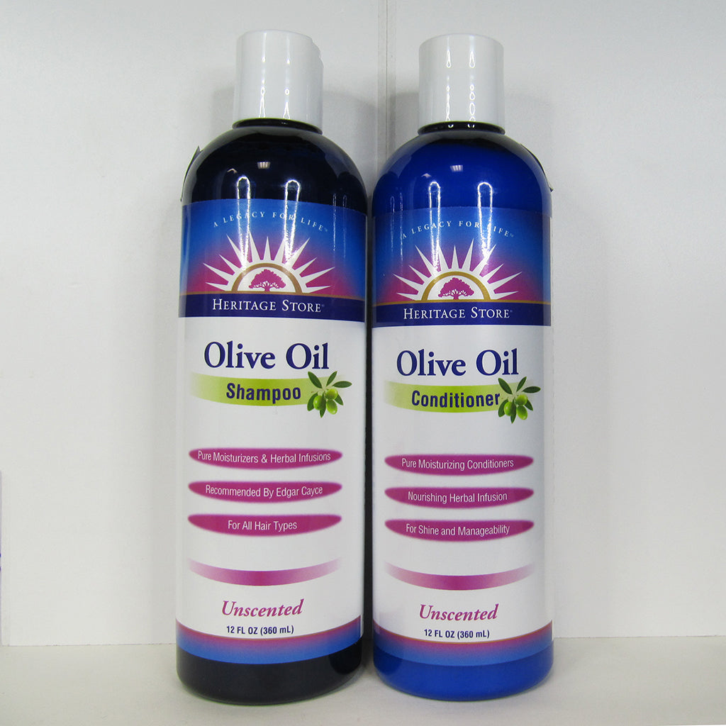 Heritage Store - Olive Oil Hair Care