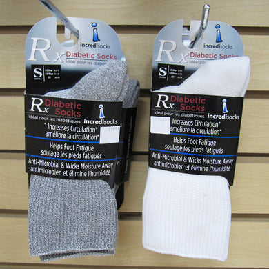 Incredisocks - Diabetic Socks Rx - Crew Length