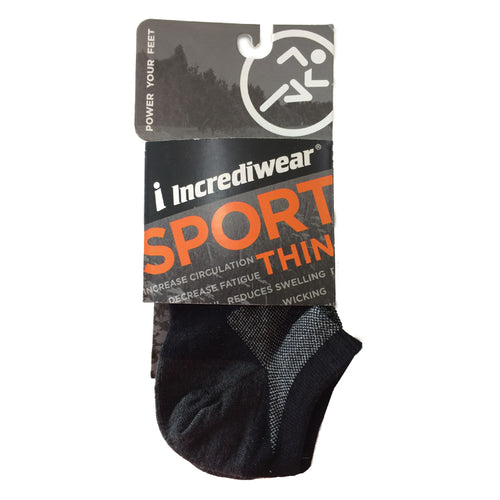 Incredisocks Sport Thin, No-Show length Socks
