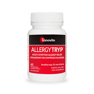 Innovite - AllergyTryp (Natural Multi-Symptom Allergy Relief)
