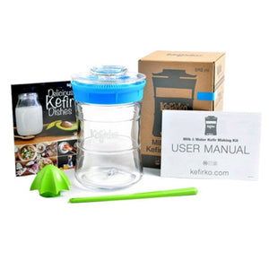 Contents of the Kefirko Kefir Maker kit