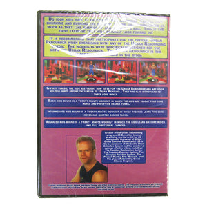 Kids Bound Urban Rebounding Video Compilation DVD, back cover