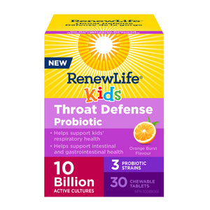Renew Life - Kids Throat Defense Probiotic