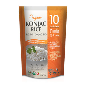 Package of Better Than Rice Organic Konjac Rice