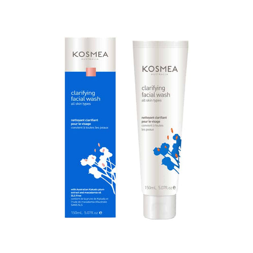 150 ml Tube and box of Kosmea Clarifying Facial Wash