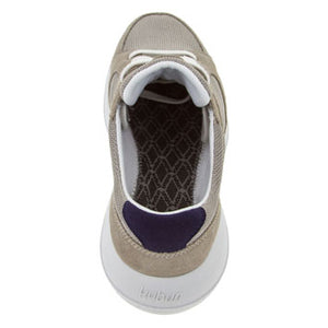 kybun Airolo shoe, Moon Rock colour, shown from rear