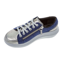 Load image into Gallery viewer, kybum Nyon shoe in Navy, inner view