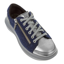 kybum Nyon shoe in Navy, outer side view