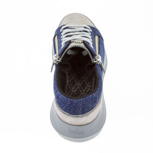 kybum Nyon shoe in Navy, shown from rear