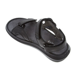 bun Pado sandal in Black, inner side