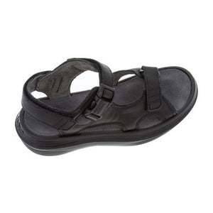 outer side of kybun Pado sandal in Black