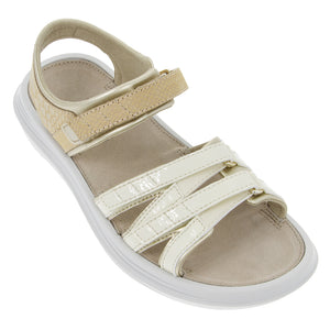 kybun Tessin sandal in Beige, outer side