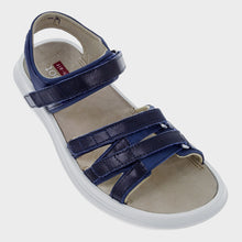Load image into Gallery viewer, kybun Tessin sandal in Indigo, outer side