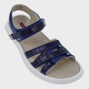 kybun Tessin sandal in Indigo, outer side