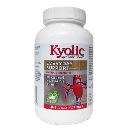 Kyolic - Everyday Support - Extra Strength One-A-Day Formula