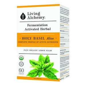 Living Alchemy - Holy Basil Alive