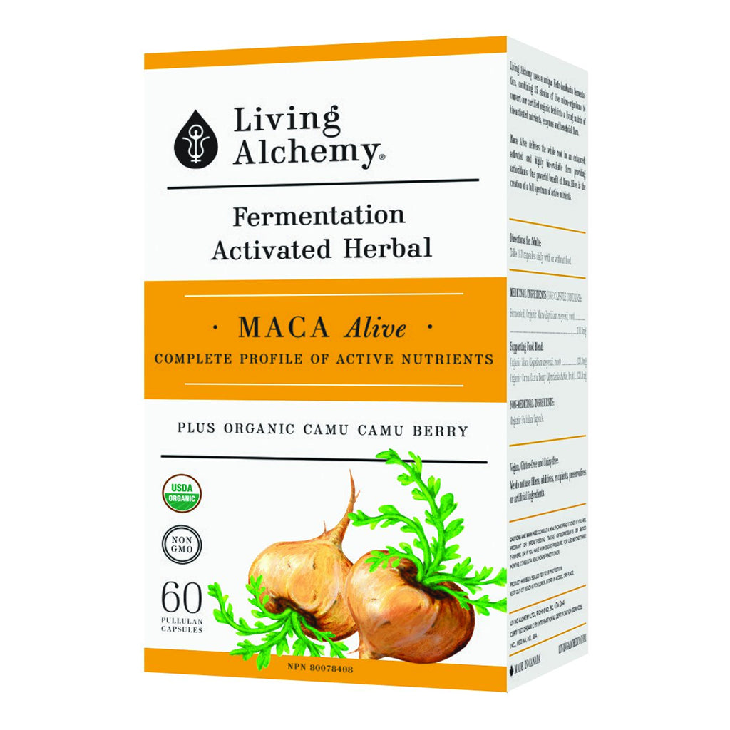 Living Alchemy - Maca Alive