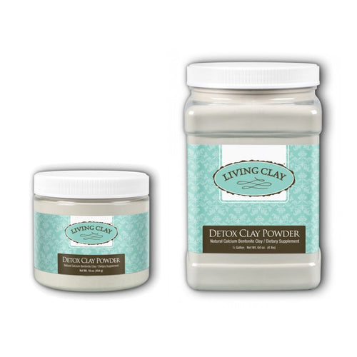 Living Clay - Detox Clay Powder - Calcium Bentonite