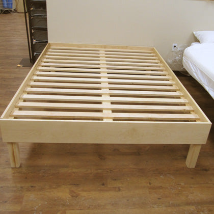 Aviva - Unfinished Solid Maple Bed Platform