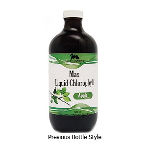 Maxion Nutrition Max Liquid Chlorophyll, previous bottle style