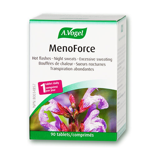 New name and label for A. Vogel Menopause / MenoForce