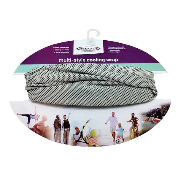 Relaxus - Multi-Style Cooling Wrap (Grey)