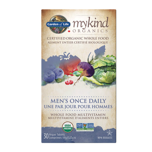 mykind Organics Men's Once Daily multi