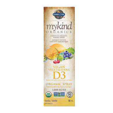 mykind Organics - Vitamin D3 Spray