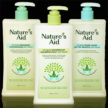 Nature's Aid - Bath & Shower Products - Body Wash / Shampoo / Conditioner