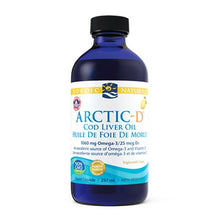 Load image into Gallery viewer, Nordic Naturals Arctic-D Cod Liver Oil