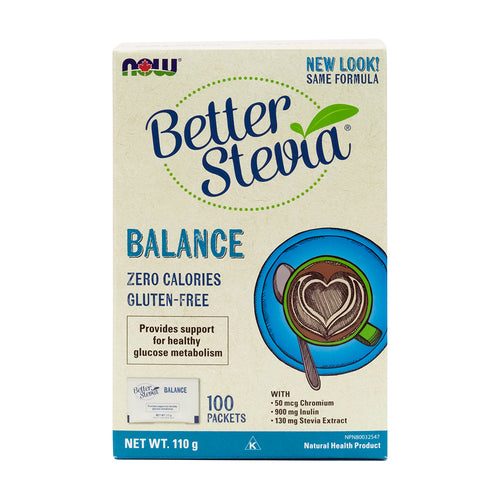NOW - Better Stevia Balance (with Inulin & Chromium)