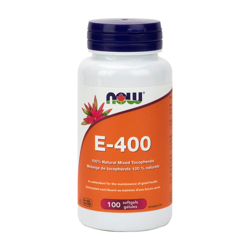 NOW - E-400 (100% Natural Mixed Tocopherols)