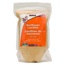 454g Bag of NOW Sunflower Lecithin Powder