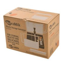 Box for NutraMilk 2 Liter Plastic Storage Container