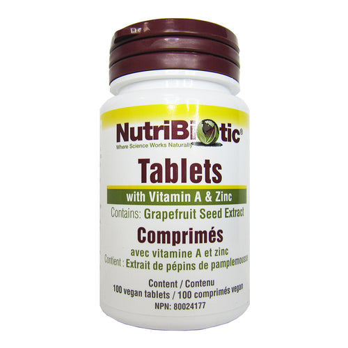 NutriBiotic - GSE - Grapefruit Seed Extract Tablets
