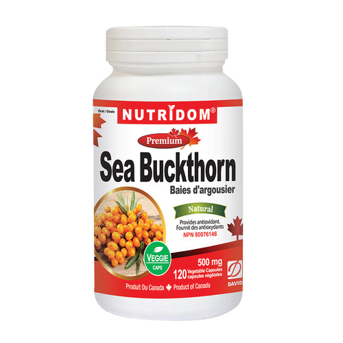 Nutridom - Sea Buckthorn (500 mg)