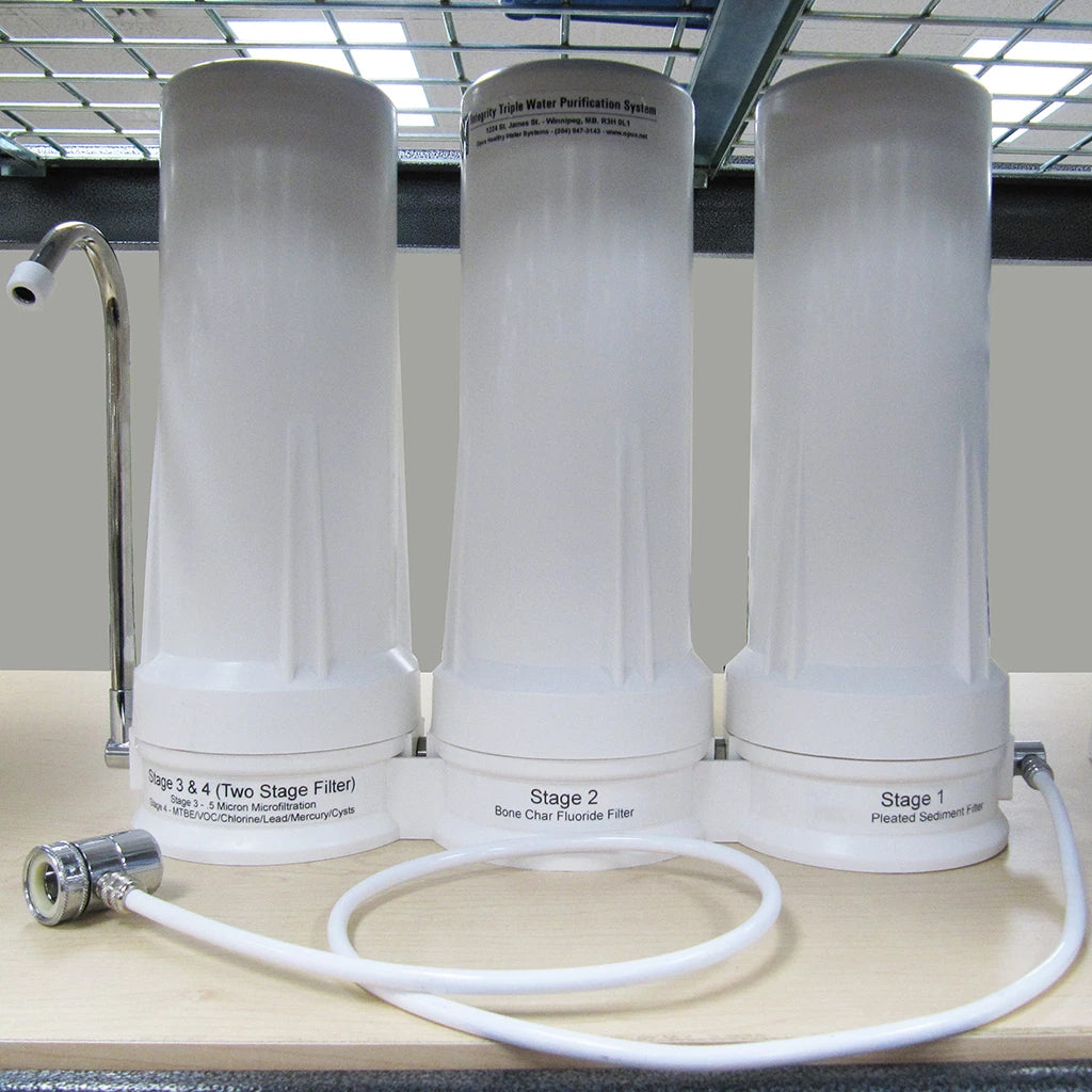 OPUS - Integrity Advantage Triple Water Purification System