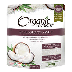 Organic Traditions - Shredded Coconut
