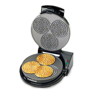 Chef's Choice Pizzelle Pro Express, opened after use