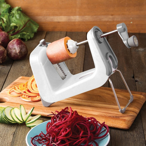 PL8 Professional Spiralizer, in white