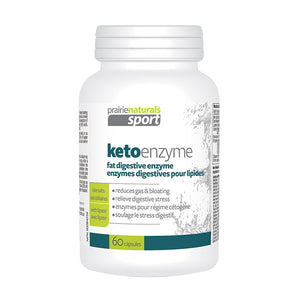 Prairie Naturals Sport - Keto Enzyme  (Fat Digestive Enzyme)